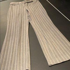 Mossimo size 4 dress pants pinstripe stretch